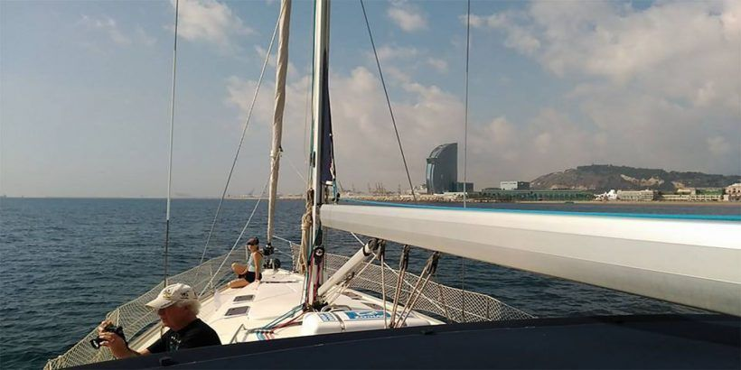 Vermouth sailing tour in barcelona