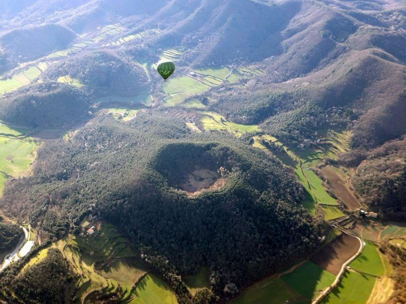 Hot Air Balloon Flight  Experience over the Volcanoes of Catalonia