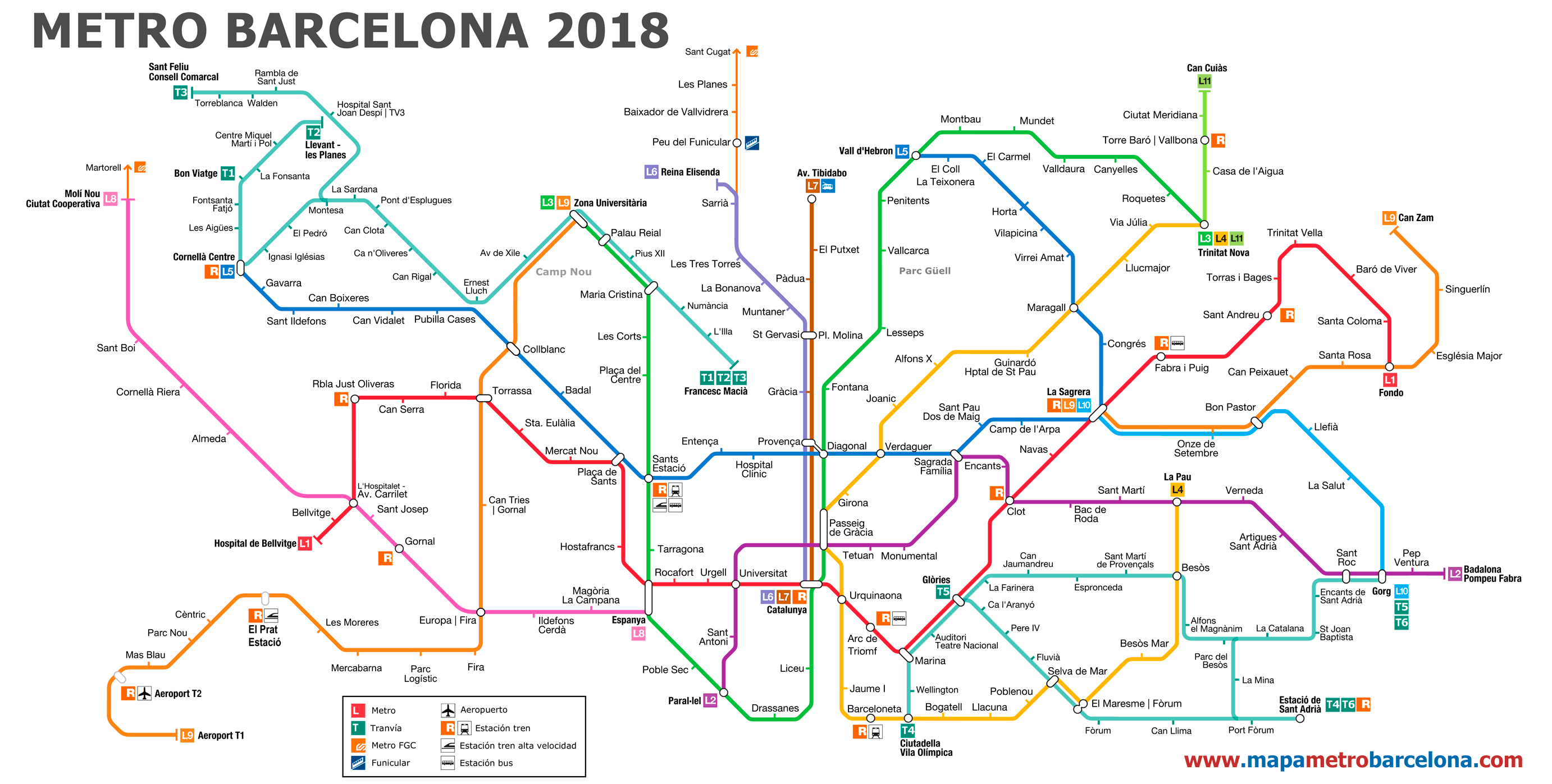 How to go from the airport to the centre of Barcelona Barcelona